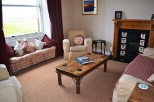 North Berwick Apartment Lounge
