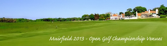 Muirfield Open Golf 2013