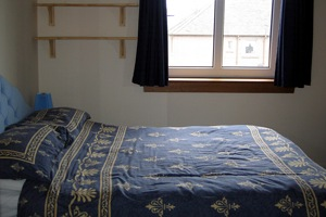 Flat in St Andrews the Bedroom